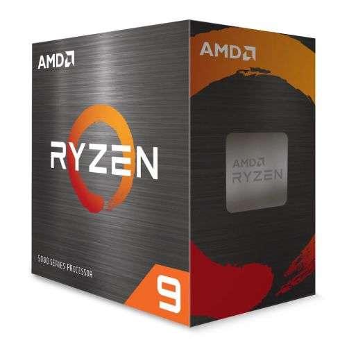 AMD Ryzen 9 5900X CPU, AM4, 3.7GHz (4.8 Turbo), 12-Core, 105W, 70MB Cache, 7nm, 5th Gen, No Graphics, NO HEATSINK/FAN