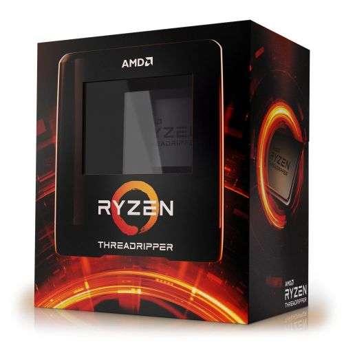 AMD Ryzen Threadripper 3960X, TRX4, 3.8GHz (4.5 Turbo), 24-Core, 280W, 128MB Cache, 7nm, 3rd Gen, No Graphics, NO HEATSINK/FAN