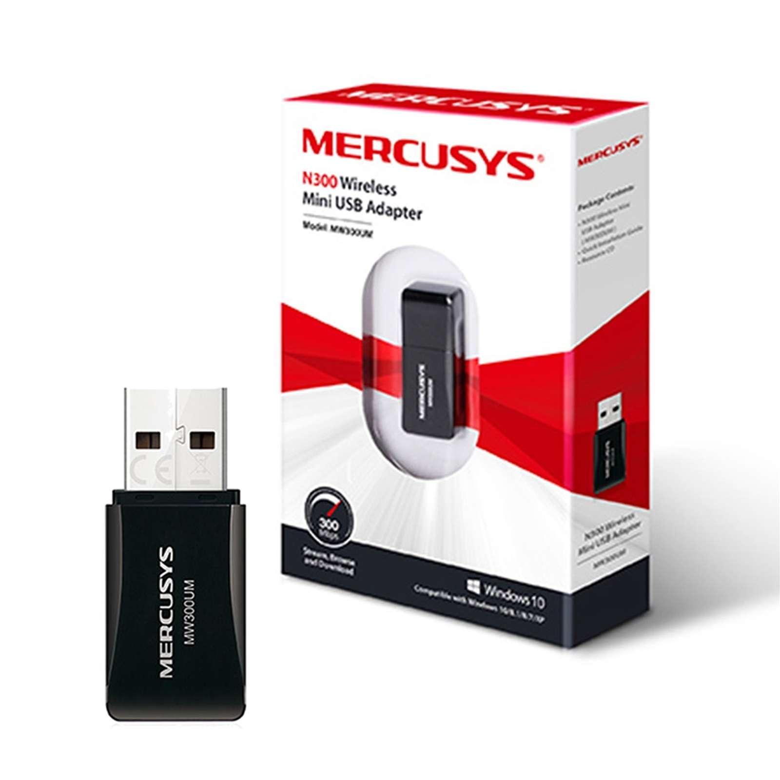 Mercusys – MW300UM N300 Wireless Mini USB Adapter