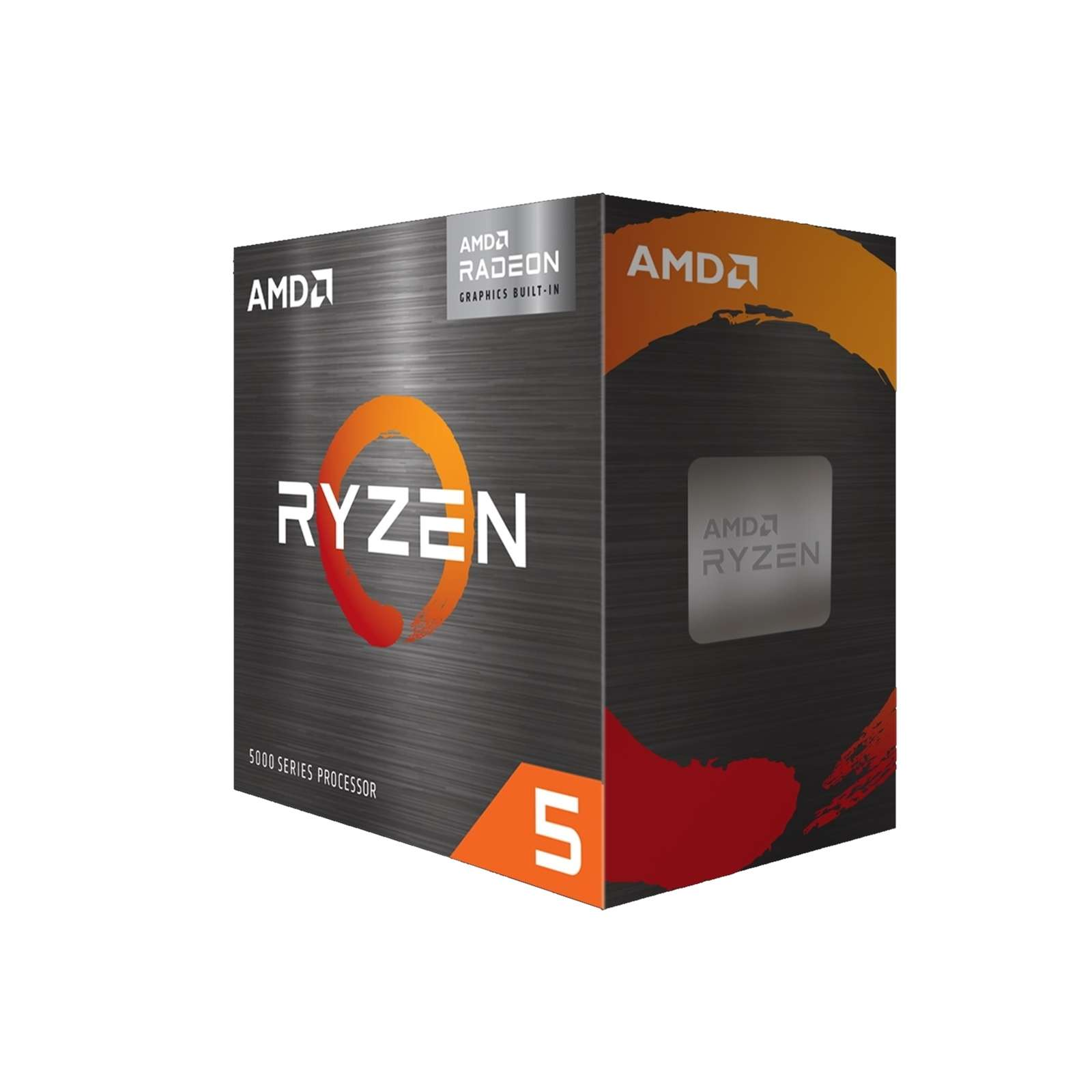 AMD Ryzen 5 5600G with Radeon Graphics and Wraith Stealth Cooler 3.9Ghz (6 cores, 12 threads, up to 4.4 GHz) Six Core AM4 Overclockable Processor