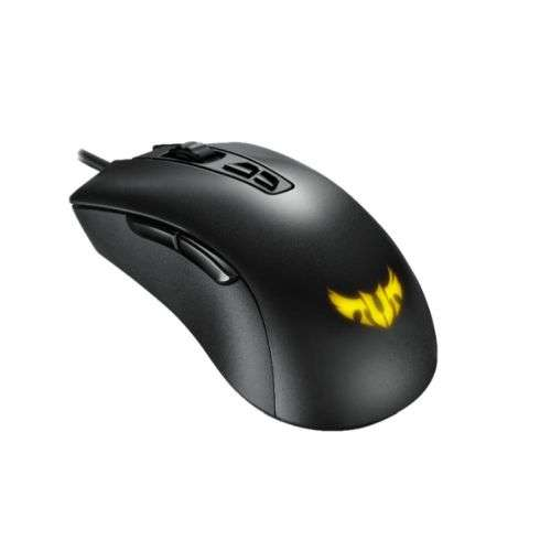 Asus TUF Gaming M3 Ergonomic Optical Gaming Mouse, 2000-7000 DPI, 7 Programmable Buttons, Durable Coating, RGB LED
