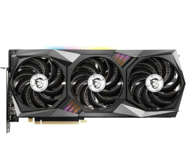 MSI GeForce RTX 3060 12GB GAMING X Ampere Graphics Card
